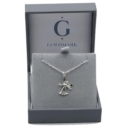 Guardian Angel Silver Pendant