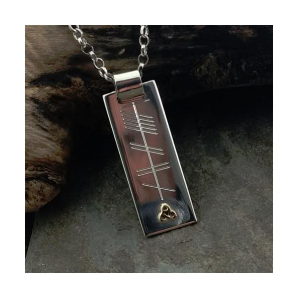 mo ghrá Silver pendant