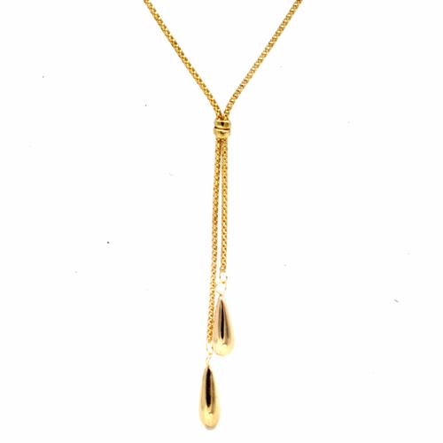 gold drop chain