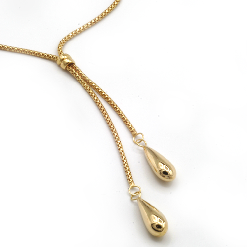 Gold fropper chain